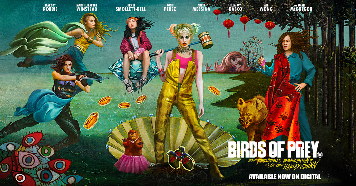Birds Of Prey | Official Site
